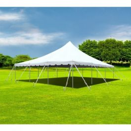 Canopy Pole Tent - 30 x 30 - Pic 1 - Chicagoland Event Rentals - Wheaton - www.ChicagolandEventRentals.com
