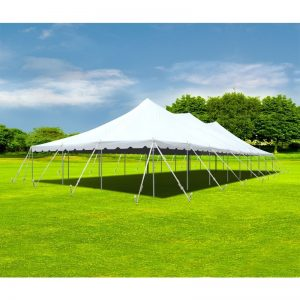 Canopy Pole Tent - 30 x 80 - Pic 1 - Chicagoland Event Rentals - Wheaton - www.ChicagolandEventRentals.com