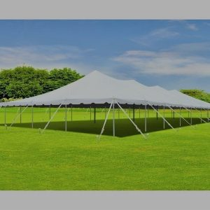 Canopy pole tent - 30 x 120
