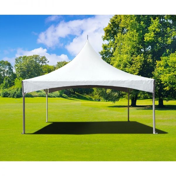 High Peak Frame Tent - 15 x 15 - Pic 1 - Chicagoland Event Rentals - Wheaton - www.ChicagolandEventRentals.com