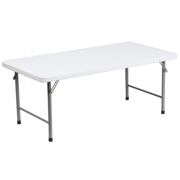 Kids Folding Table - 24 x 48 - Pic 1 - Chicagoland Event Rentals - Wheaton - www.ChicagolandEventRentals.com