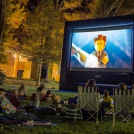 Movie Screen Premium - 11′ x 20′ Inflatable Screen - Pic 2 - Chicagoland Event Rentals - Wheaton - www.ChicagolandEventRentals.com