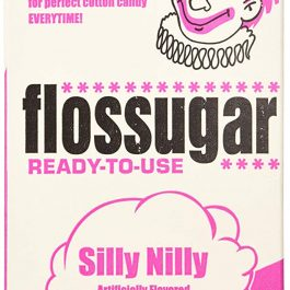 Silly Nilly Pink - Vanilla Flossugar - Half Gallon Carton - Pic 1 - Chicagoland Event Rentals - Wheaton - www.ChicagolandEventRentals.com