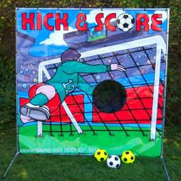Sports Soccer Kick Score
