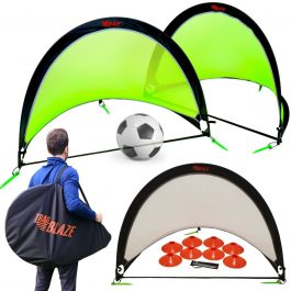 Sports Soccer Pop Up Goals - Trail Blaze - Pic 1 - Chicagoland Event Rentals - Wheaton - www.ChicagolandEventRentals.com