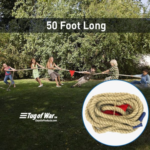 Sports Tug of War Rope - 50 Foot - Pic 2 - Chicagoland Event Rentals - Wheaton - www.ChicagolandEventRentals.com