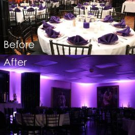 Uplighting rental chicago