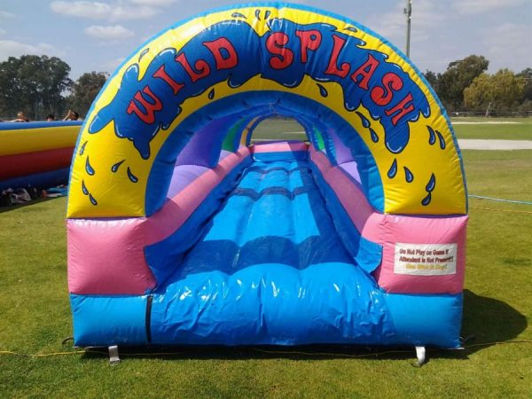 Wild Splash Slip and Slide - Waterslide - Pic 2 - Chicagoland Event Rentals - Wheaton - www.ChicagolandEventRentals.com