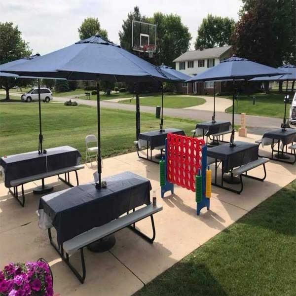 party table rentals chicago