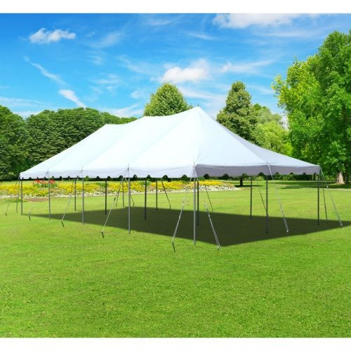 Grass with Stakes - 30 x 100 Tent