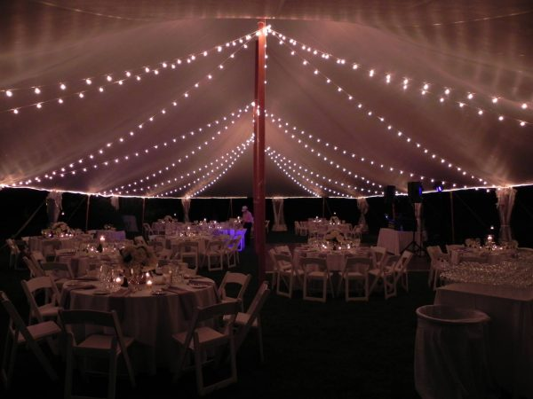 Italian String Lighting - 30 x 150 Tent